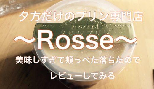 【武蔵小山】行列に並んで食べてみた!プリン専門店Rosse「特別な夕焼けロイヤル」のレビューを書いてみる