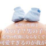 ショック。妊娠8ヶ月まで女の子と言われていたのに男の子のシンボル出現で性別が変わった。エコー写真あり