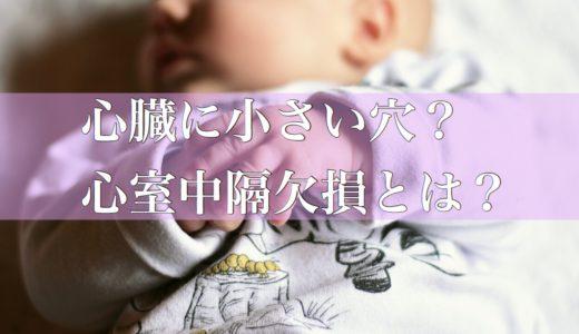 【体験談】赤ちゃん胸の音に雑音?心臓に穴?心室中隔欠損(VSD)と診断され精密検査をした時のお話。