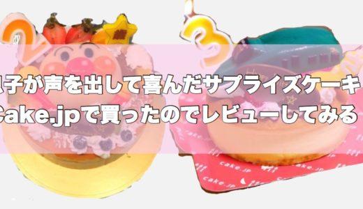 【体験談】誕生日ケーキは通販で人気のcake.jpで決まり|おしゃれでかわいい乳幼児用からペット用・キャラクターまでラインナップがスゴイので口コミを書いてみる