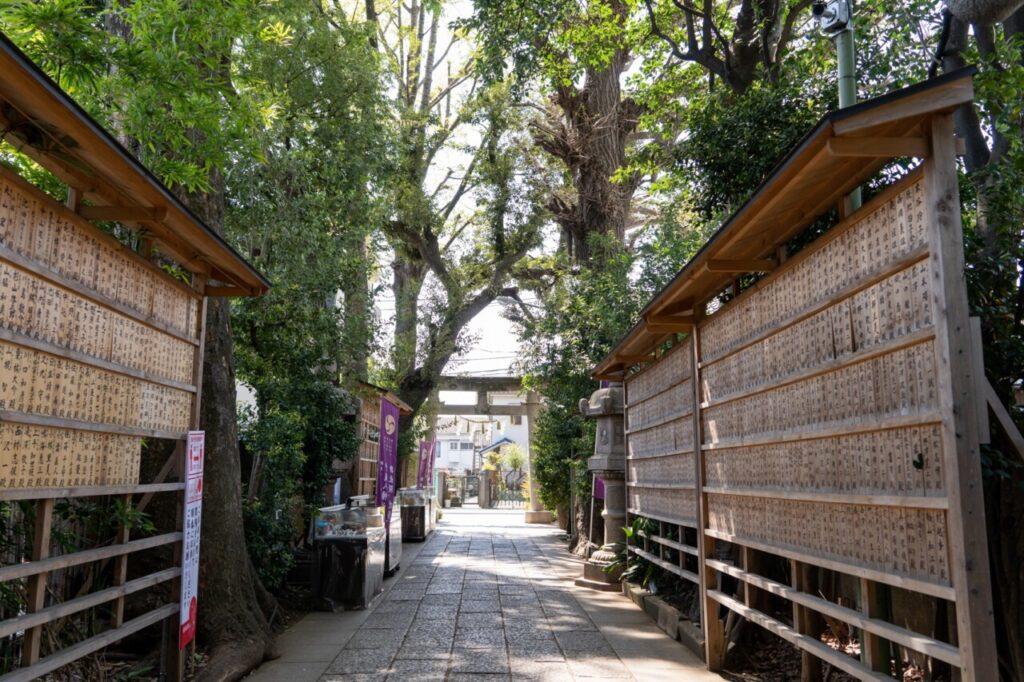 戸越八幡神社の参道
