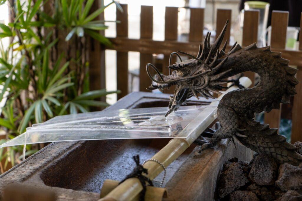 戸越八幡神社の手水